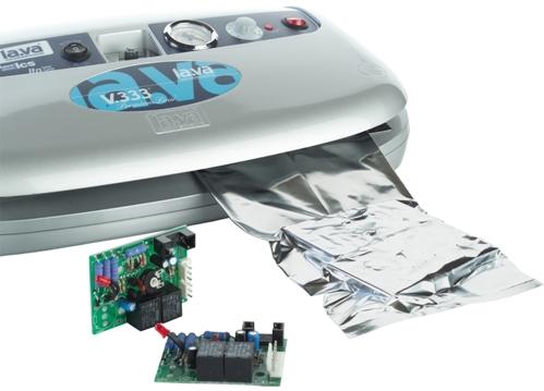 ESD Beutel vakuumieren mit Folienschweißgerät