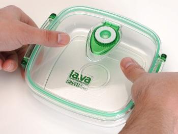 Vakuumbox Green-line - für frische Lebensmittel