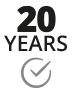 20 years spare-parts delivery-warranty