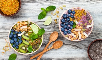 Superfoods und Smoothies vakuumieren
