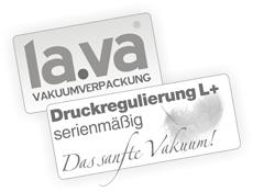 Druckregulierung L+ für ein sanftes Vakuum
