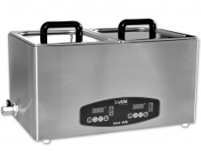 Sous-Vide Duo-Bath - Sous-Vide cooking (2 x 8 liters)