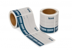 Lava - labels for vacuum-sealer bags