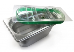Vacuum GN-Container ideal for keeping fresh raw foods