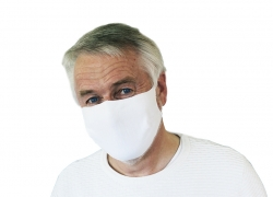 Mouth and nose mask - 4 layers and reusable