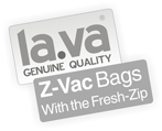 Z-Vac Zipper Vacuum Sealer bags - Zipper vacuum Bags - Buy here the original from Lava