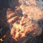 Asiatisch mariniertes Steak mit Käse Maccaroni2