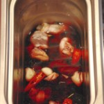 Kokosnuss und Rotwein Shrimps1