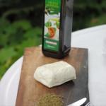 Halloumi-Käse vorbereiten
