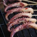 Gegrillter Octopus - lecker!