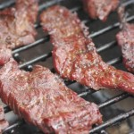 Kronfleisch auf dem Grill