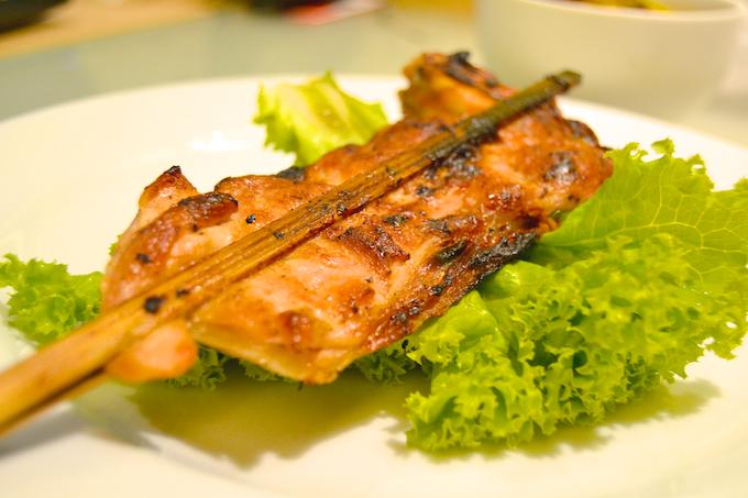 Hähnchenbrust-Spieße vom Grill