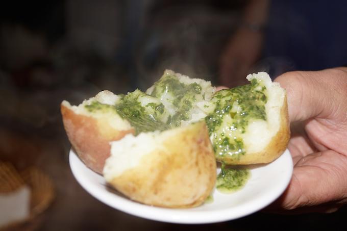 Kanarische Kartoffeln