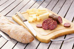 Brotzeit - Ideen für einen feinen Snack in der Natur