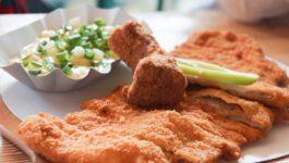 Kalbsschnitzel-mit-Kartoffelsalat