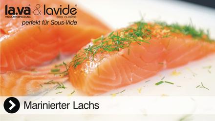 Sous-Vide Film Lachs - In diesem Film erleben Sie live, wie einfach es ist mit einem Lavide Sous-Vide Gerät köstlichen Lachs zu garen. Jetzt reinklicken und das Sous-Vide Video Lachs von Lavide erleben!