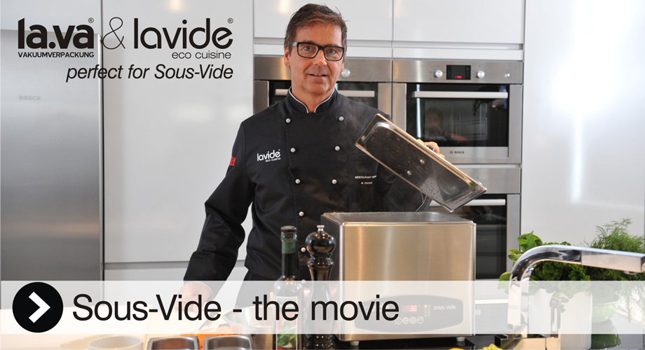 Sous-Vide devices by Lavide (waterbaths + stirrer + accessories) - The movie - watch here!