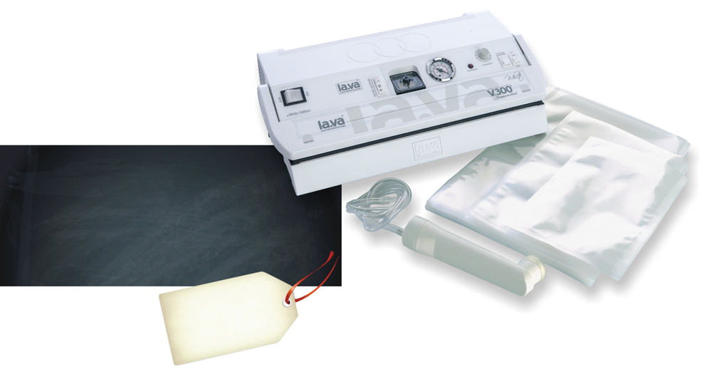 Lava Vacuum Sealer V.300 White (New Design!)