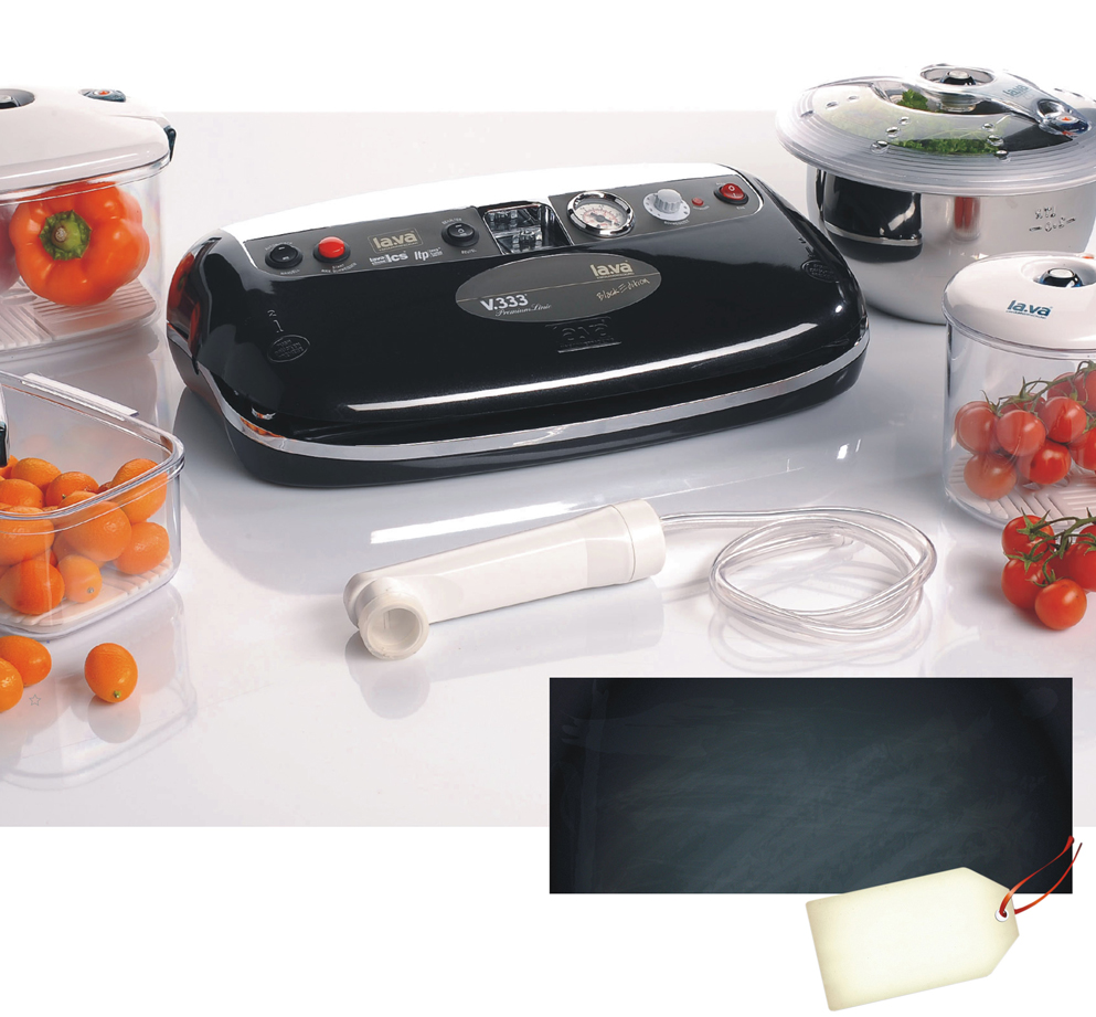 Professional Vacuum Sealer V.333 Black Edition - Design Meets Technology