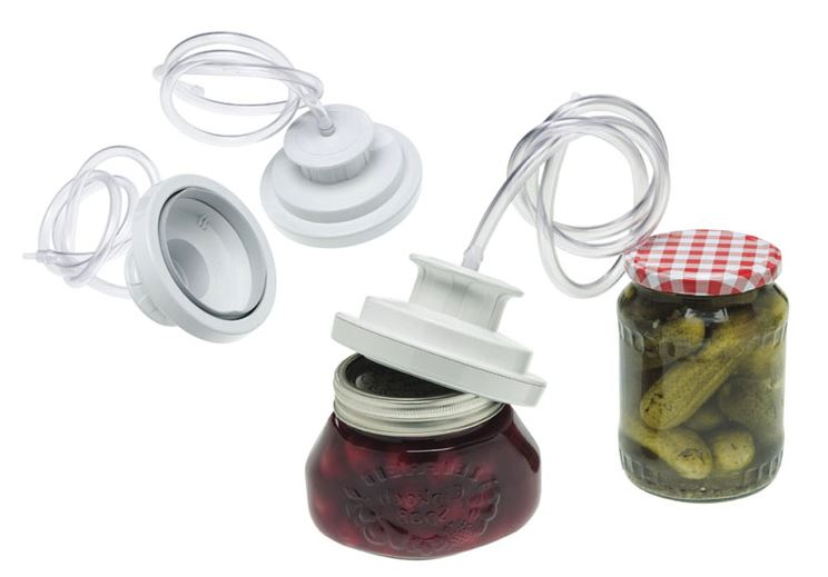 Lava - Vacuum Cover for Jars