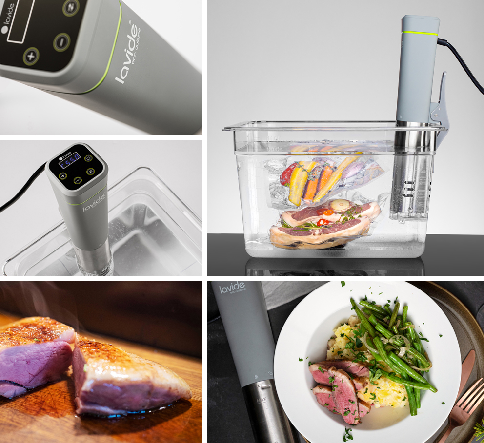 Sous-Vide devices - great selection in premium quality, order now free shipping - Sous-Vide Gerals, Sous-Vide Accessories directly from the manufacturer Lavide - buy online here