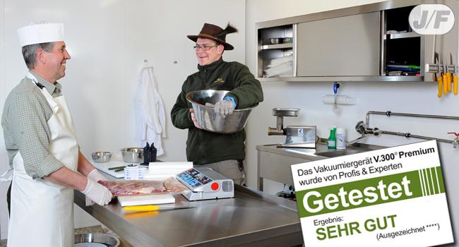 Profi Vakuumiergeräte für Jäger und Fischer