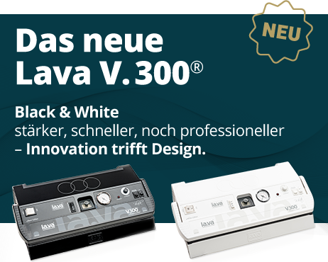 Neu: Limited Edition - Vakuumiergerät V.300 Black & White