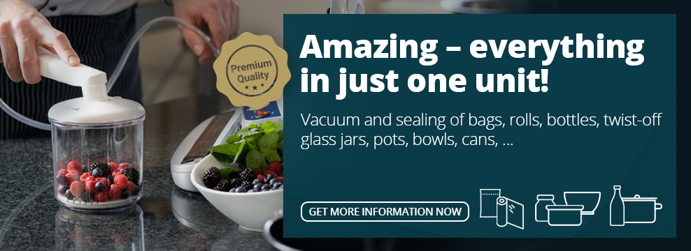 Lava Vacuum Sealer - multifunctional